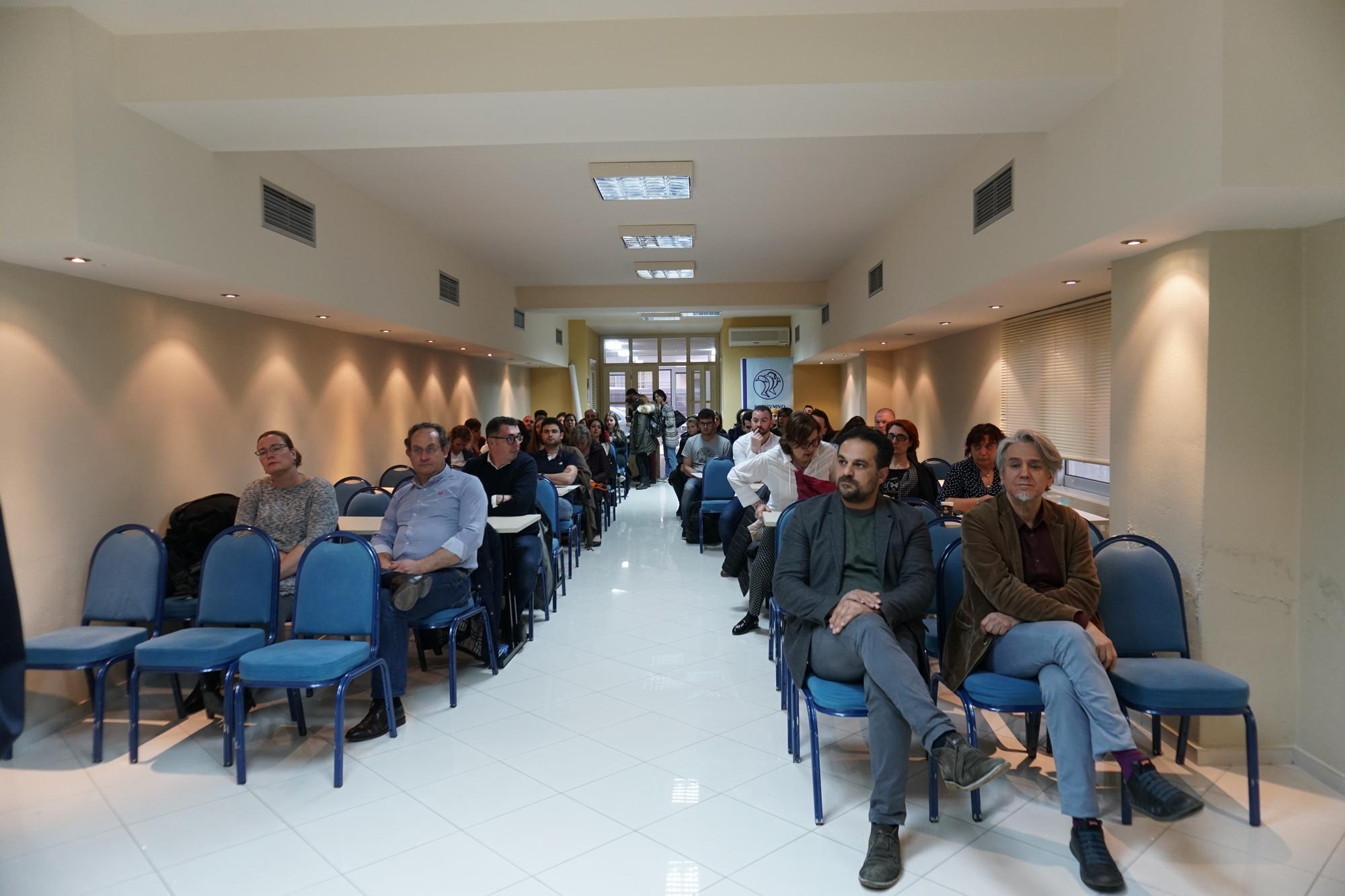 Η «έξυπνη πόλη» στο επίκεντρο συνάντησης διακρατικών εταίρων και φορέων της πόλης του Ρεθύμνου